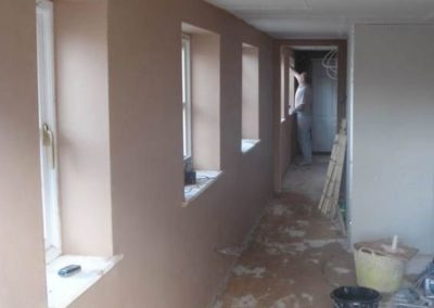 internal plastering works